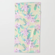 Tahitian Garden {I} Beach Towel