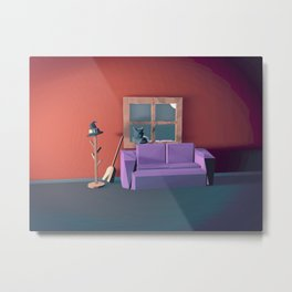 Witch's House Metal Print