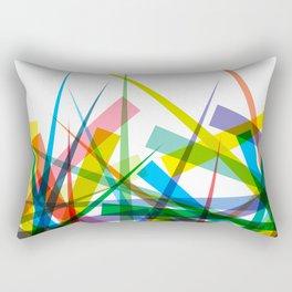 Spiky Garden Rectangular Pillow
