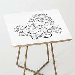 Ninja Master of Planning Side Table