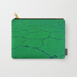 Where On Earth ? - Green Carry-All Pouch