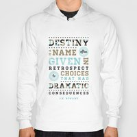 destiny Hoodies featuring Destiny by Megan Matsuoka