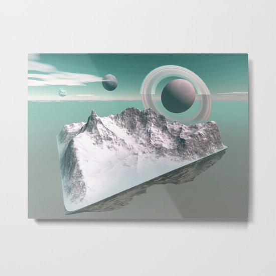 celestial horizon Metal Print