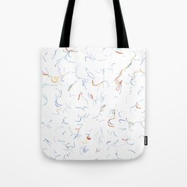 DD Squiggles Tote Bag