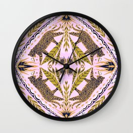 Roar Pattern  Wall Clock