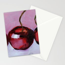 Cherries, cherry, fruit summer Stationery Cards