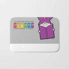 Reading Rainbow in Harmony - Purple Bath Mat