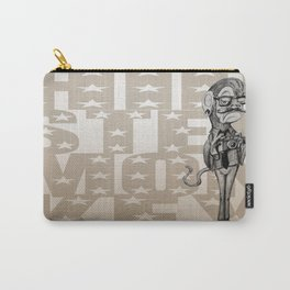 Hipster Monkey Carry-All Pouch