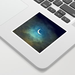 Solar Eclipse Sticker