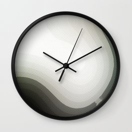 Edged Out Wall Clock