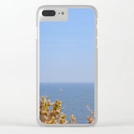 Sailing in the Cote d'Azur Clear iPhone Case