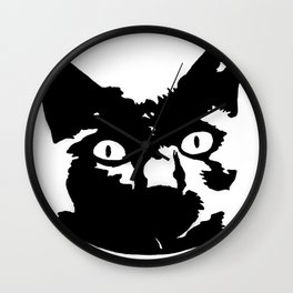 Meow II Wall Clock