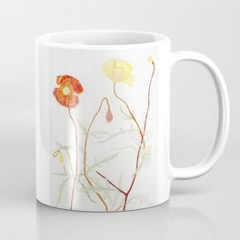More fowers in my garden. Poppy. Coffee Mug