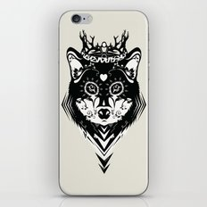 King of Wolf iPhone & iPod Skin