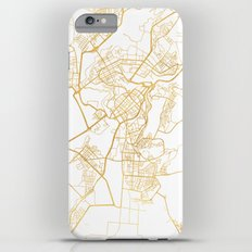 YEREVAN ARMENIA CITY STREET MAP ART iPhone 6s Plus Slim Case
