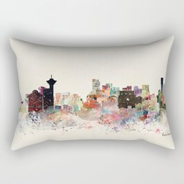 vancouver skyline Rectangular Pillow