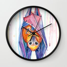 Buncha'bats Wall Clock