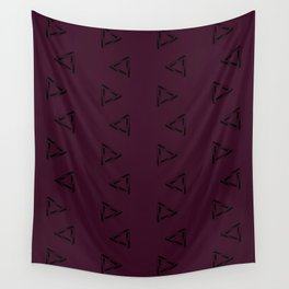 Impossible Triangles - Plumb Wall Tapestry