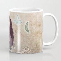 zen Mugs featuring Zen by minniemorrisart