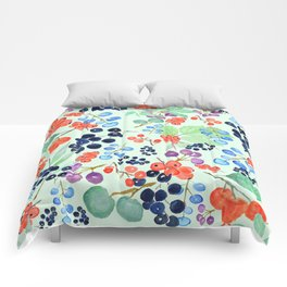 joyful berries Comforters