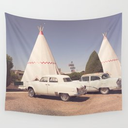 Sleep at the Wigwam Wall Tapestry