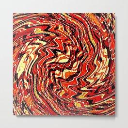 Fire Agate Metal Print