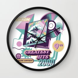 Japanese Greatest Hits Wall Clock