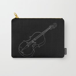 Violin in lines Carry-All Pouch