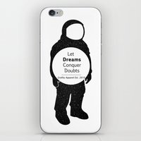 neil gaiman iPhone & iPod Skins featuring Neil  by Grafity Apparel