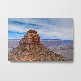 Temple at Grand Canyon Metal Print