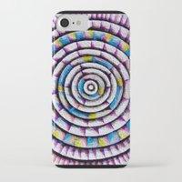 fibonacci iPhone & iPod Cases featuring 12 Rings of Fibonacci by Todd Huffine