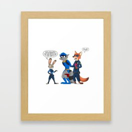 Not so thievius anymore Framed Art Print