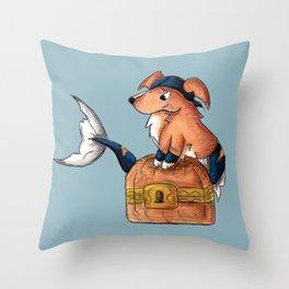 Treasure Retriever Throw Pillow