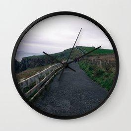 Leading path Wall Clock