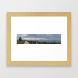 Irish Sky Framed Art Print