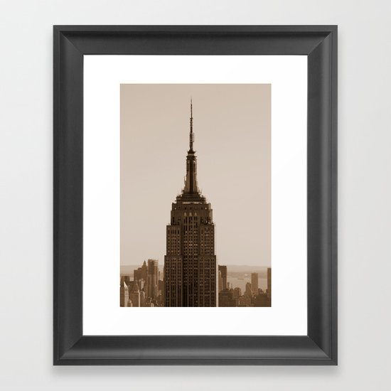 Welcome to the Empire... Framed Art Print