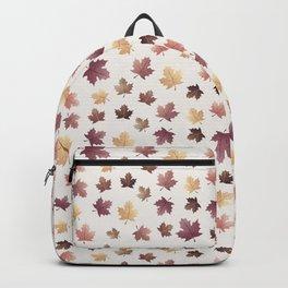 Golden Fall Leaves Backpack