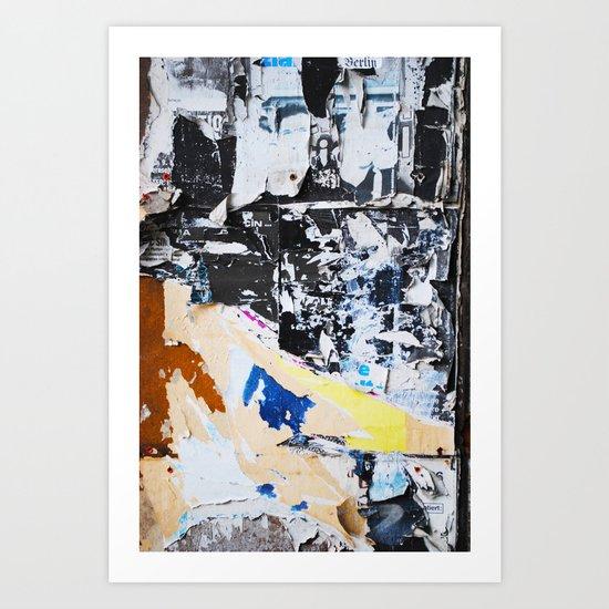 Fragmente zerrissen Art Print