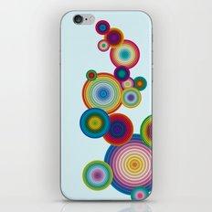 Circles #1 iPhone & iPod Skin