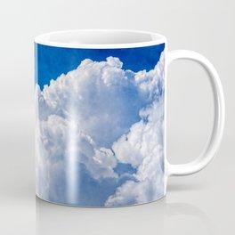 White Cumulus Clouds In The Blue Sky Coffee Mug