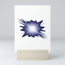 Space Beam Mini Art Print