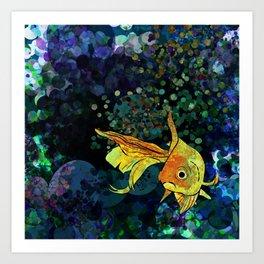 A fish! A fish! A fishy... OH!! Art Print