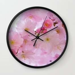 Pink Dream Wall Clock