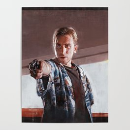 Open The Case - Pulp Fiction Poster
