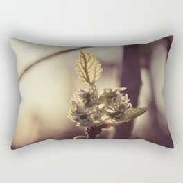 Raspberry sprout Rectangular Pillow
