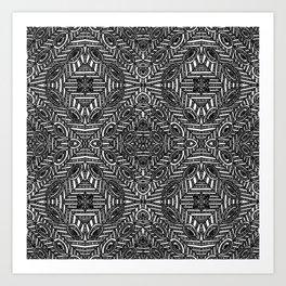 Achrom Large Art Print