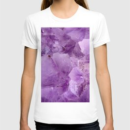 Violet Kryptonite Crystals T-shirt