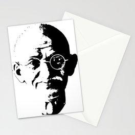 Mahatma Gandhi Minimalistic Pop Art Stationery Cards