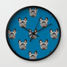 French Bulldog dog Wall Clock
