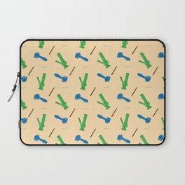 Bongs, Blunts, Joints Pattern Laptop Sleeve